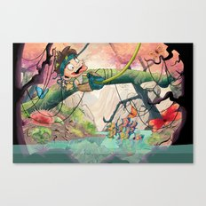 Jungle kid. Canvas Print