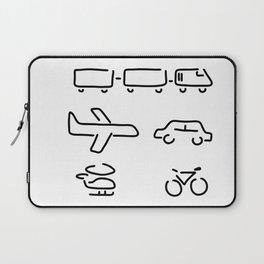 turn mobility travel Laptop Sleeve