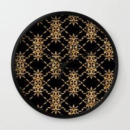 Classique Art Deco Luxury Pattern Wall Clock