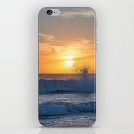 When the Sea meets the Sun iPhone Skin