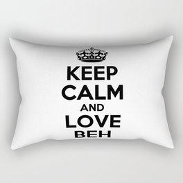 Keep calm and love BEH Rectangular Pillow