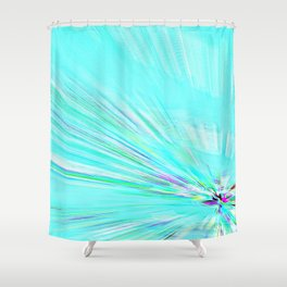 Re-Created Rapture 7 by Robert S. Lee Shower Curtain