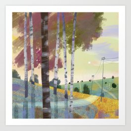 CountryLandscape-01 Art Print