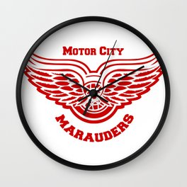 Motor City Snitch Wall Clock