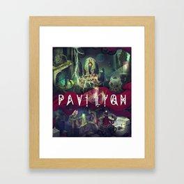 Pavilion Poster Framed Art Print