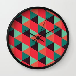 ReOrange Wall Clock