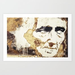 Decay of Age Art Print