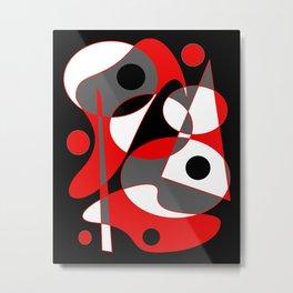 Abstract #855 Metal Print