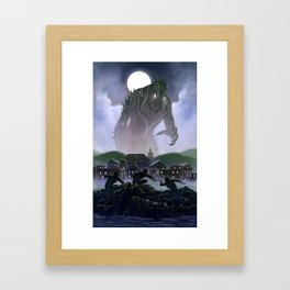 Devil's Reef Framed Art Print