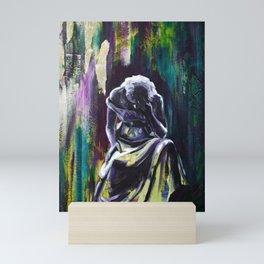 Dark Night of the Soul - You will not be overcome Mini Art Print