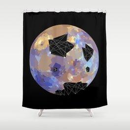 Hg (Mercury) Shower Curtain