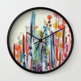petit jardin 2 Wall Clock