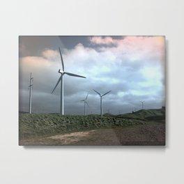 Mighty wind Metal Print