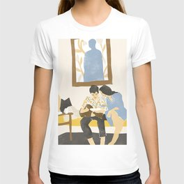 You and me and the music T-shirt