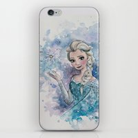 elsa iPhone & iPod Skins featuring Elsa by Sallygipsypunk