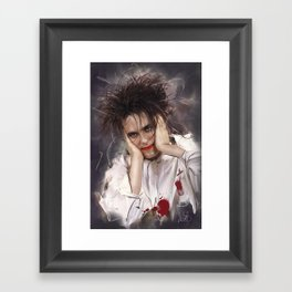 Robert Smith - The Cure Framed Art Print