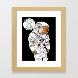 NASA Astronaut - Cristina Curto Framed Art Print