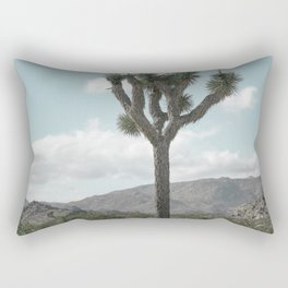 Joshua Tree On A Calm Cool Day Rectangular Pillow