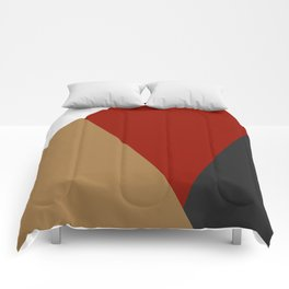 Abstract modern print 3 Comforters