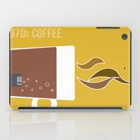 70s iPad Cases featuring 70s Coffee by Morgane Cazaubon