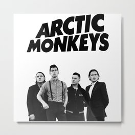 Arctic Monkey Metal Print