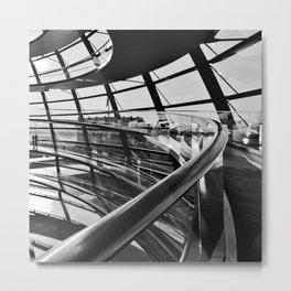 Bundestag [IV] Metal Print