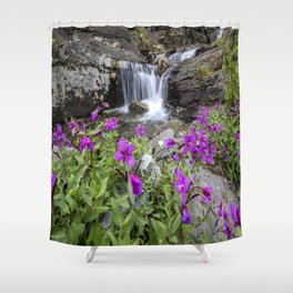 Secluded Waterfall Shower Curtain