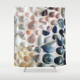 Shells of Luskentyre Shower Curtain