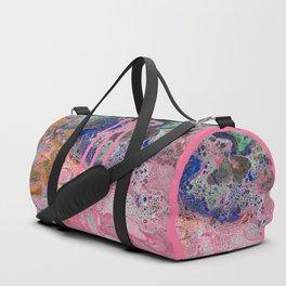 Flamingos by the Sea Duffle Bag