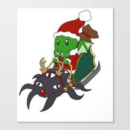 Merry Cthulhmas Canvas Print