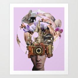 Desire Machines Art Print