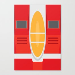 Starscream Transformers Minimalist Canvas Print