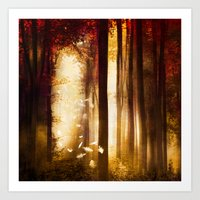 dreams Art Prints featuring Dreams by Viviana Gonzalez