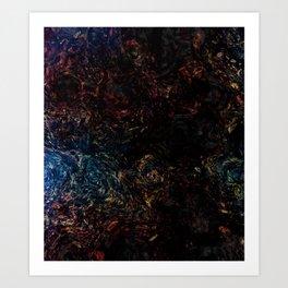 Beautiful impressionism art backdrop Art Print