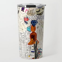 Collage 41 Travel Mug