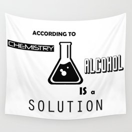Can't Argue With Science Wall Tapestry