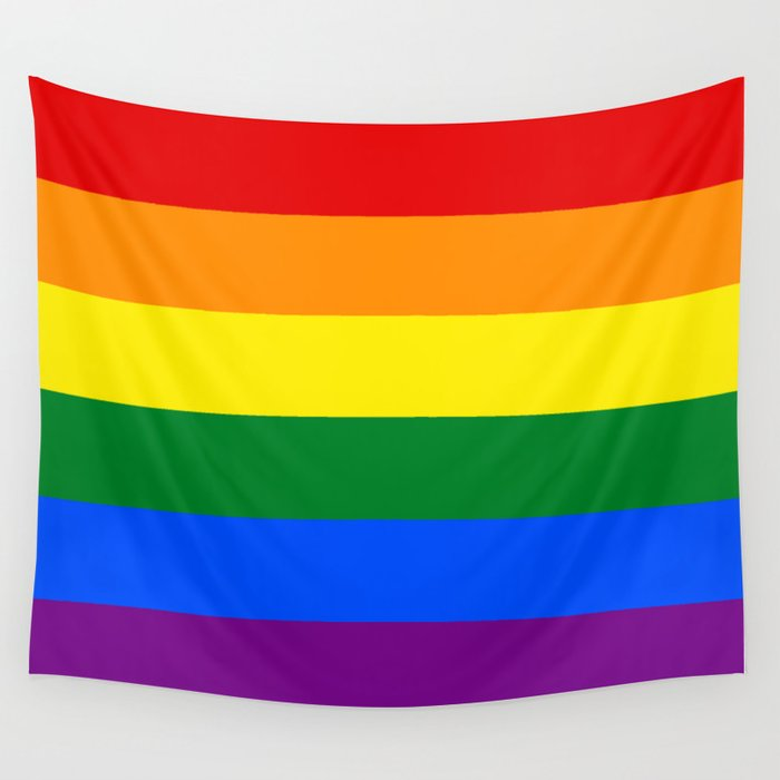 LGBT Pride Flag (LGBTQ Pride, Gay Pride) Wall Tapestry