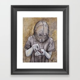 It starts early Framed Art Print