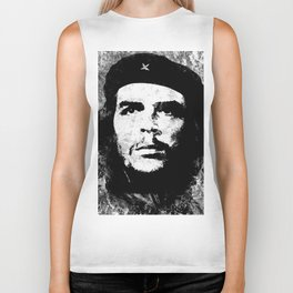 CHE GUEVARA (BLACK & WHITE VERSION) Biker Tank