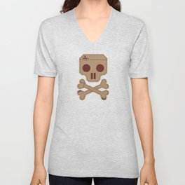 Paper Pirate Unisex V-Neck