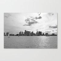 boston Canvas Prints featuring Boston by NaturallyJess