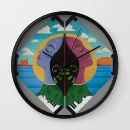 Due Respect Wall Clock