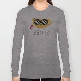 Celebrit-tea Long Sleeve T-shirt
