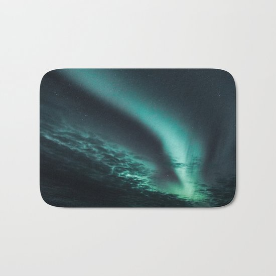 Aurora Borealis IV Bath Mat