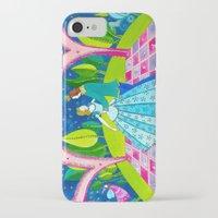 cinderella iPhone & iPod Cases featuring Cinderella by Sandra Nascimento