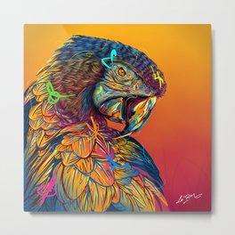 GUACAMAYO Exotic Animals Species Metal Print