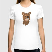 furry T-shirts featuring Furry baby by Metin Seven