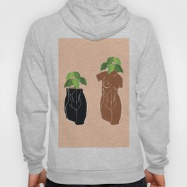 Planters in the Nude Hoody