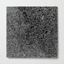 Number 3 Metal Print