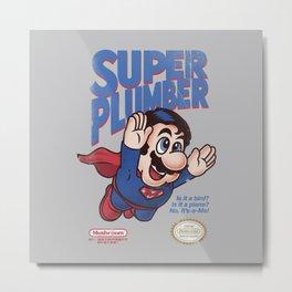Super Plumber Metal Print